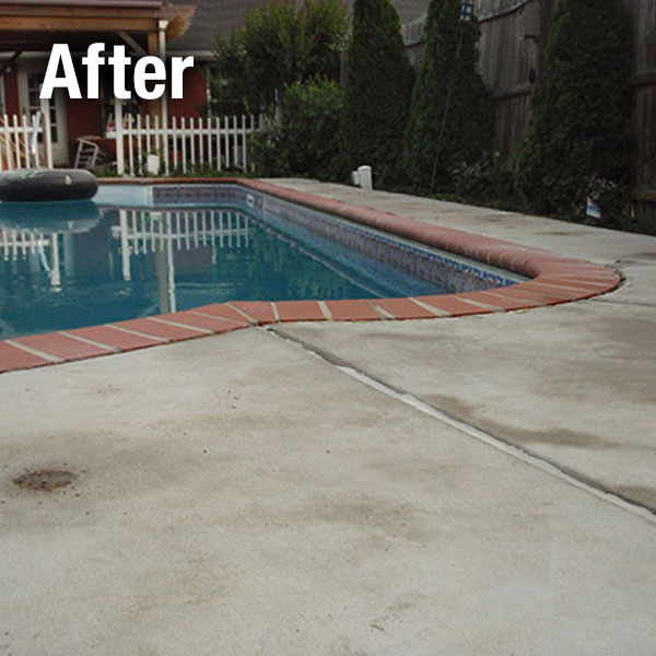 Pool Deck Leveling Cleveland West - After