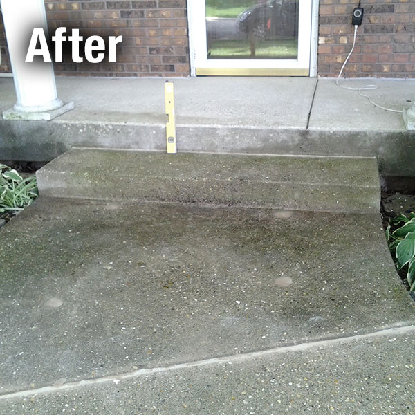 Cleveland West Concrete Step Repair - After